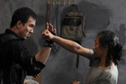 The Raid offers some deft manoeuvres as well as killer one-liners. Photo / Supplied