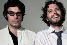 Comic duo Jemaine Clement and Bret McKenzie. Photo / Supplied