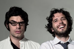 Jemaine Clement (left) and Bret McKenzie from Flight of the Conchords. Photo / Supplied