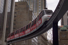 Sydney's monorail, which currently links Darling Harbour with the central city, is to be pulled down. Photo / Brett Phibbs