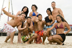The Shire is based the TV show Jersey Shore. Photo / Supplied