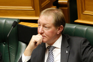 Local Government Minister Nick Smith during question time in Parliament, Wellington. Photo / NZ Herald