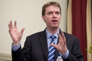 Conservative Party leader Colin Craig. Photo / Natalie Slade