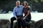 John Pryor and Jill Hetherington, who was seriously injured in the collision. Photo / Brett Phibbs