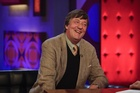 British author and actor Stephen Fry. Photo / Supplied