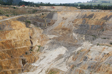 The Newmont Waihi Gold. Photo / Richard Robinson