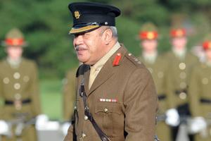 King George Tupou V. Photo / NZPA