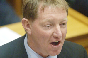 Local Government Minister Dr Nick Smith. Photo / NZPA