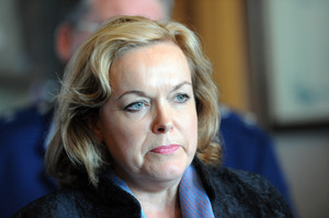 Justice Minister Judith Collins. Photo / APN