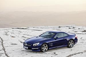 Mercedes-Benz SL65 AMG. Photo / Supplied