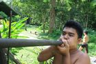 The traditional blowpipe is a highly accurate tool. Photo / Jim Eagles