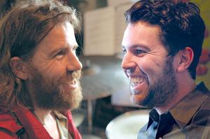 Chris O'Connor (left) and Julien Dyne.