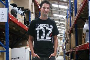 Torpedo7 co-founder and co-chief executive Luke Howard-Willis. Photo / supplied