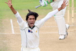 Mohammad Aamer. Photo / Getty Images