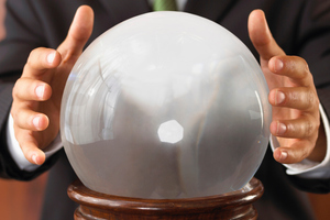 Treasury's attempts at gazing into the crystal ball don't always result in the most accurate 40-year predictions. Photo / Thinkstock
