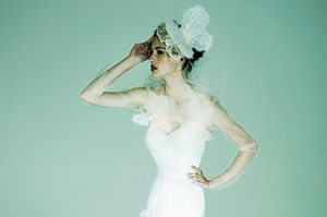 Jane Yeh focuses on creating stylish, romantic and elegant dresses. Photo / Supplied