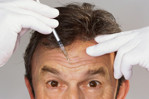 Rather than going under the knife, many men are opting for Botox to delay the ageing process. Photo / Thinkstock