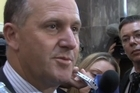 Prime Minister John Key responds to MP Nick Smith's resignation from his Cabinet portfolios.