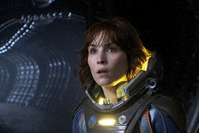 Noomi Rapace in Prometheus. Photo / Supplied