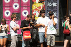 Fans queue outside Auckland's Real Groovy for Big Day Out tickets in 2009.  Photo / Paul Estcourt