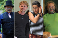Tame Iti, Urs Signer, Emily Felicity Bailey and Te Rangikaiwhiria were on trial in the High Court in Auckland. Picture / NZ Herald