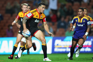 Sonny Bill Williams of the Chiefs in action during the round one Super Rugby match between the Chiefs and the Highlanders at Waikato Stadium. Photo / Getty Images