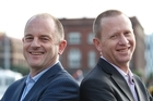 Labour leader David Shearer, left, and Green party co-leader Russel Norman. Photo / Mark Mitchell