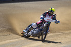 Current World Speedway champion Greg Hancock, who will be competing at the FIM New Zealand Speedway Grand Prix, held at Western Springs Staduim on Saturday 31 March 2012. Photo / Brett Phibbs