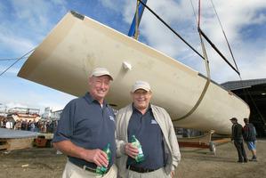 Bill Buckley (right). Photo / Brett Phibbs