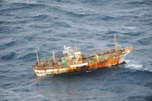 The Japanese fishing boat had been missing since the tsunami struck on March 11, 2011. Photo / Supplied