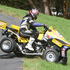 Ian Ffitch forgetting the difference between a SuperQuad and a FarmQuad. Photo / Alastair Ritchie