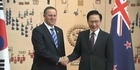 Watch: Raw Video: John Key in Korea