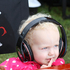 The delightful Maddison Millen wasn't a big fan of the noise, but really liked her Beats by Dre headphones. Photo / Alastair Ritchie