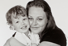 Amanda Hunt with her son Riley. Photo / Supplied