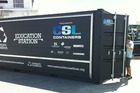 Sustainable Coastlines' mobile classroom 'Education Station'. Photo / Supplied