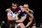 Kieran Foran of the Manly Sea Eagles in action. Photo / Getty Images