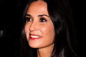Demi Moore feels 'sick to her stomach' over claims her ex-husband Ashton Kutcher is dating singer Rihanna. Photo / Supplied