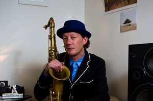 Jazz musician Nathan Haines. Photo / Dean Purcell
