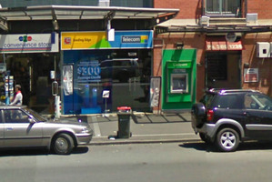 The National Bank cash machine on Ponsonby Road. Photo / Supplied