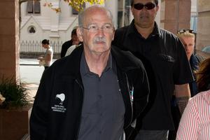 Garry Parsloe, president of the Maritime Union.  Photo / Brett Phibbs