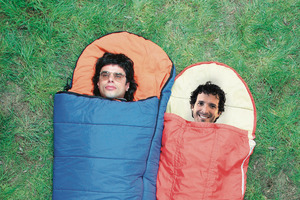 Flight of the Conchords' Jemaine Clement (left) and Bret McKenzie. Photo / Supplied