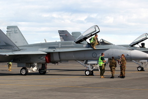 Spitfires at the RNZAF Air Show. Photo / APN