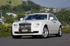 Rolls-Royce Ghost. Photo / Supplied