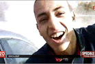 A frame grab of Mohamed Merah provided by French TV station France 2.  Photo / AP.