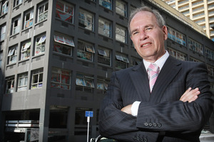 Auckland Mayor Len Brown. Photo / Greg Bowker
