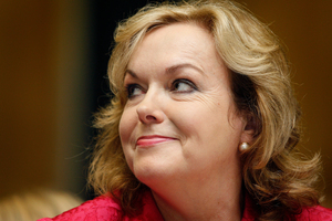 Judith Collins is ready to sue anyone who suggests she let out Michelle Boag's email. Photo / Sarah Ivey