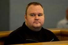 Kim Dotcom's extradition hearing is set for August. Photo / Brett Phibbs