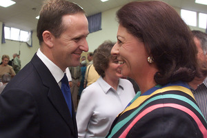 John Key is indebted to Michelle Boag for his selection for the safe seat of Helensville in 2002, when she was National Party president. Photo / Glenn Jeffrey