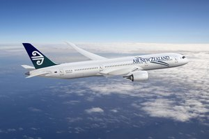 The Air New Zealand Boeing 787 Dreamliner. Photo / Supplied