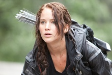Jennifer Lawrence in The Hunger Games.  Photo / Roadshow